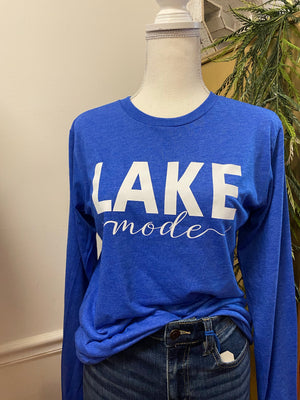 Lake Mode Long Sleeve Tee