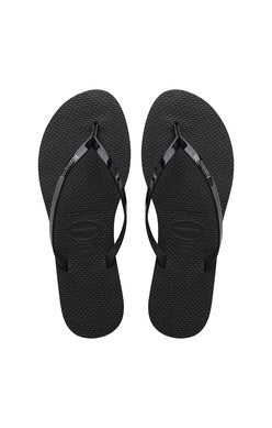 Black You Metallic Havaianas