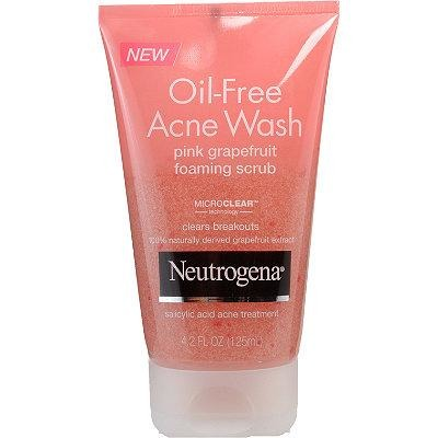 Gel Nettoyant Exfoliant Pamplemousse Rose - Visibly Clear de Neutrogena