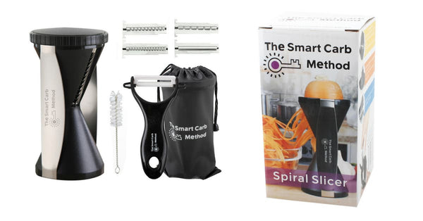 The Smart Carb Spiral Slicer / Spirelli / Gru00f8nnsaksskju00e6rer