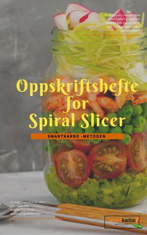 Oppskriftshefte for Spiral Slicer