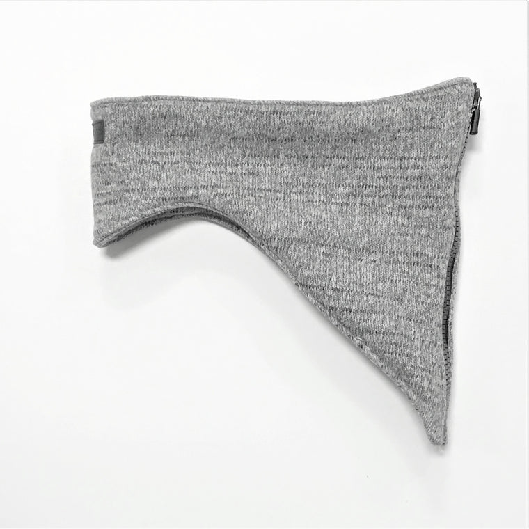 Polartec Sweater Knit - Heather Grey