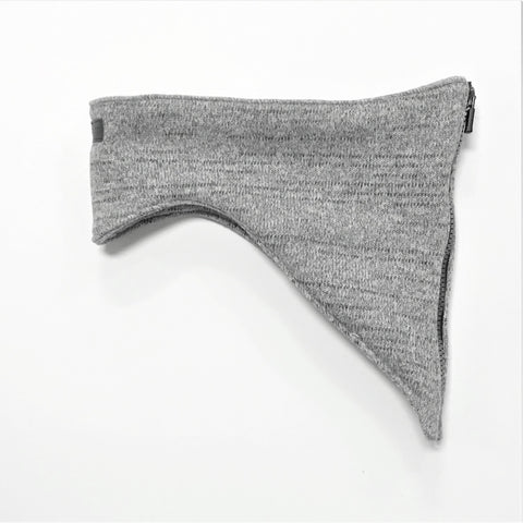 Polartec Sweater Knit - Heather Grey - Edne Collar Co.