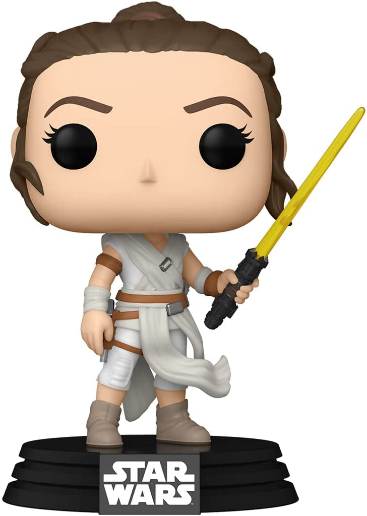 Funko POP! Star Wars: Rey (Yellow Lightsaber) Collectible Figure 889698514828