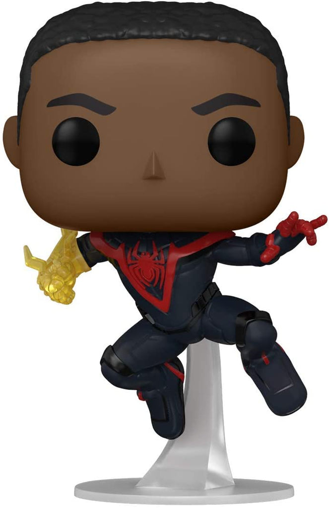 Funko POP! Marvel Spider-Man Miles Morales (Classic Suit) CHASE Collectible Figure 889698501507