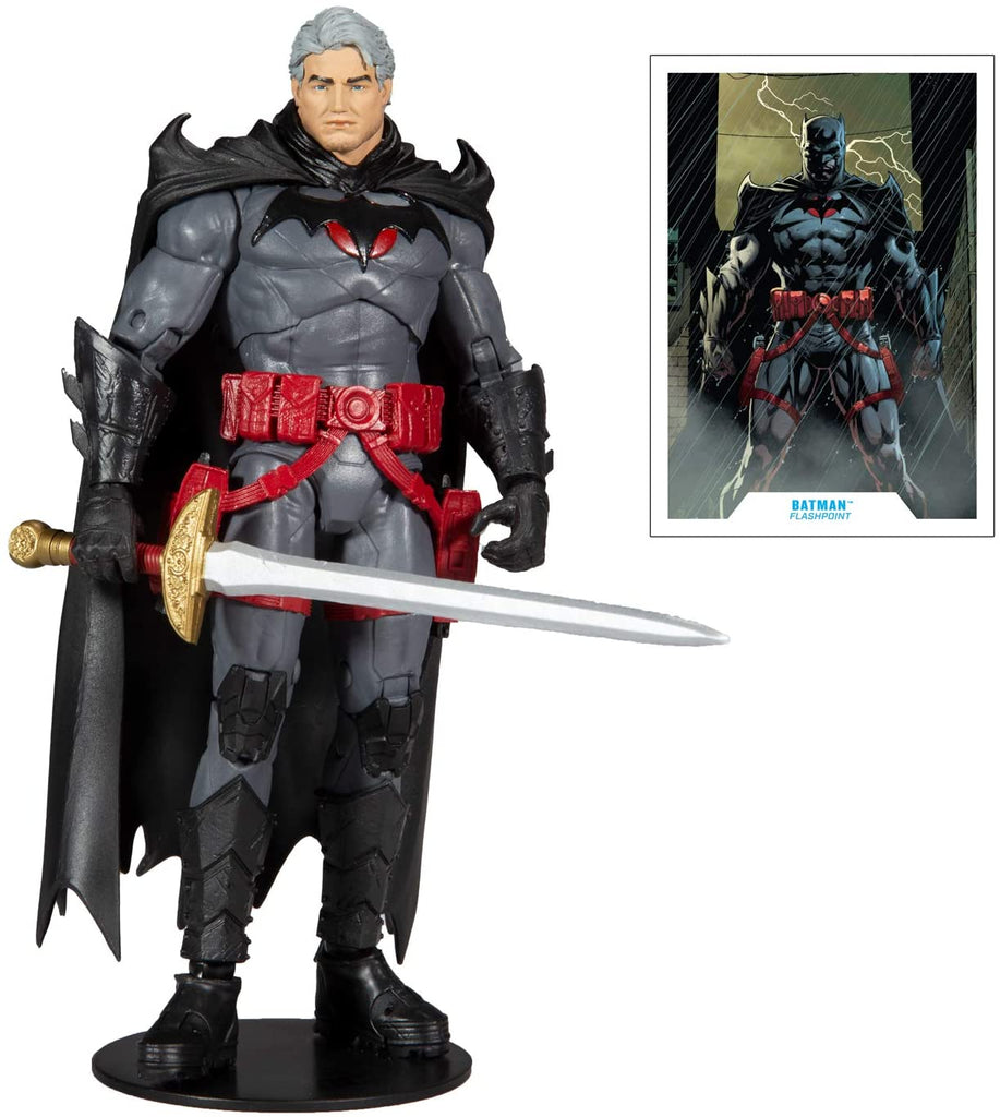 DC Multiverse Thomas Wayne Flashpoint Batman Unmasked 7-Inch Action Figure 787926150186
