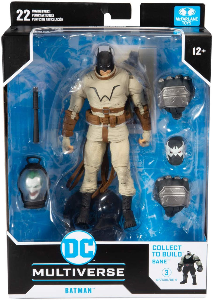 DC Multiverse Batman - Last Night on Earth #3 (Build-A-Bane) 7-Inch Action Figure 787926154269