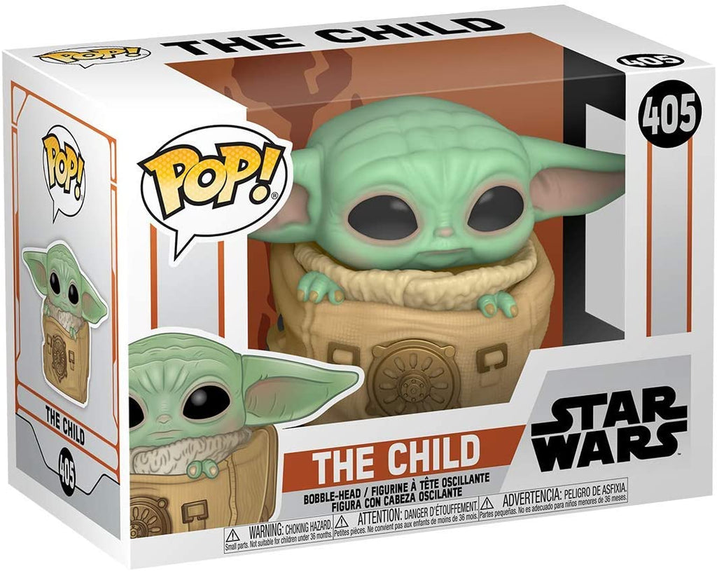 Funko POP! Star Wars: The Mandalorian - The Child in Bag - Collectible Figure 889698509633