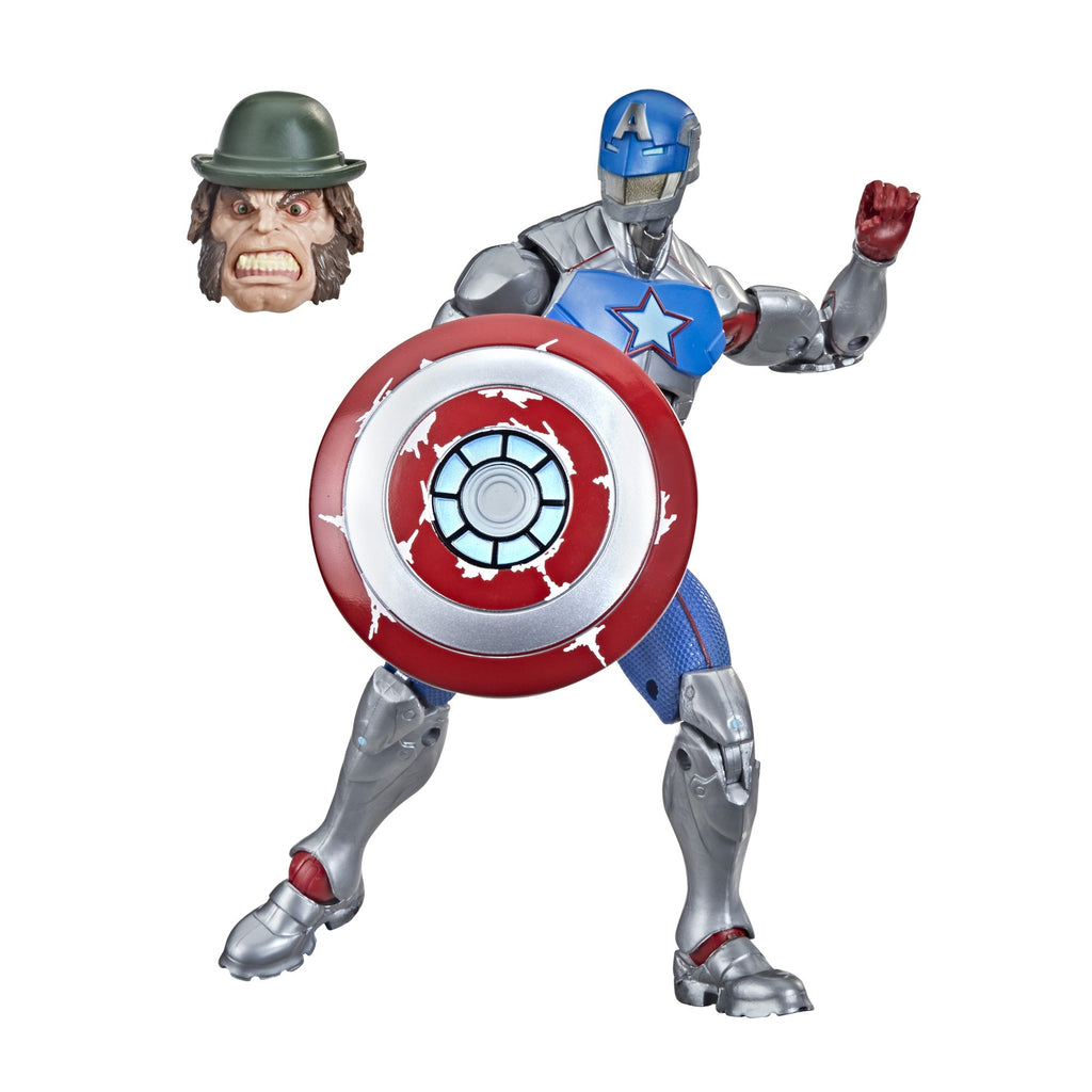 Marvel Legends Civil Warrior With Shield Action Figure, 6 Inch