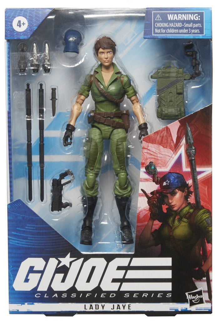G.I. Joe Classified Series Lady Jaye 6-Inch Action Figures 5010993790388