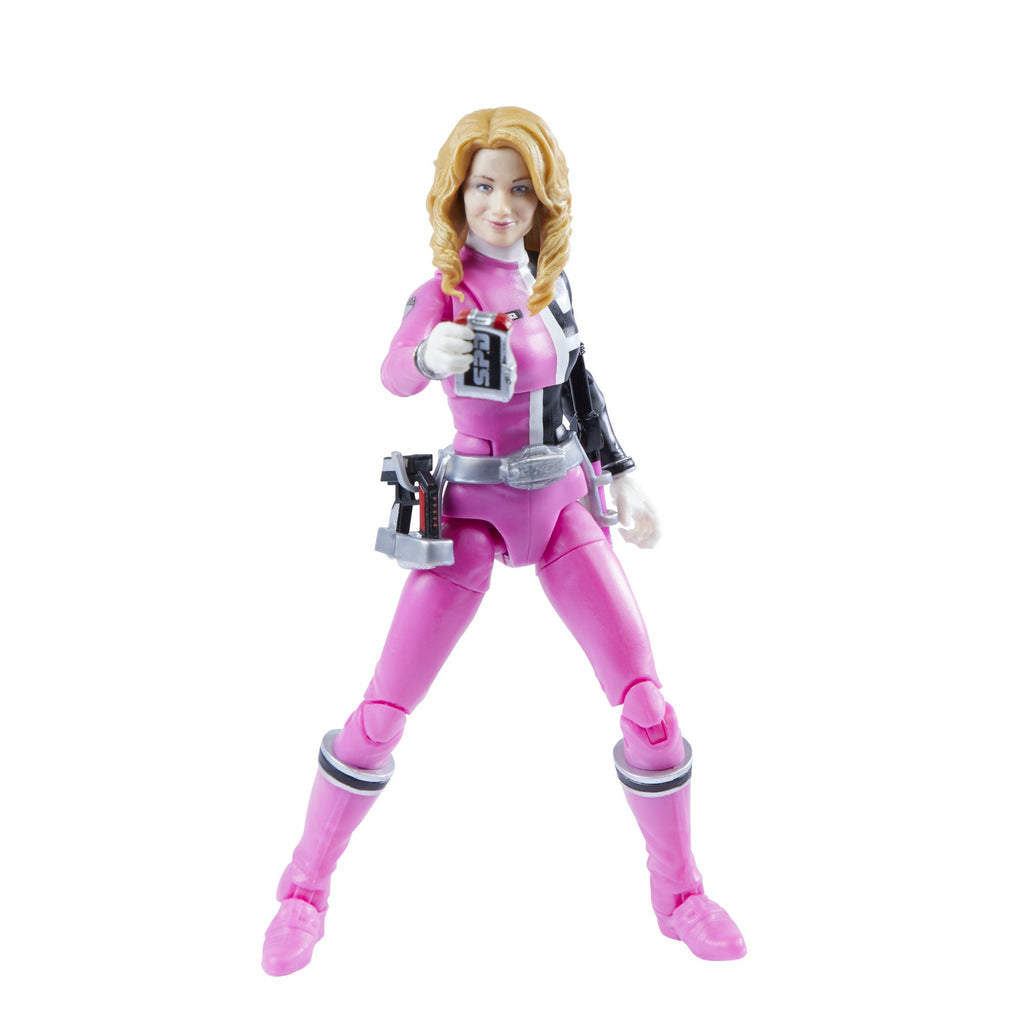 Power Rangers Lightning Collection 6 inch S.P.D. Pink Ranger Action Figure 630509993048