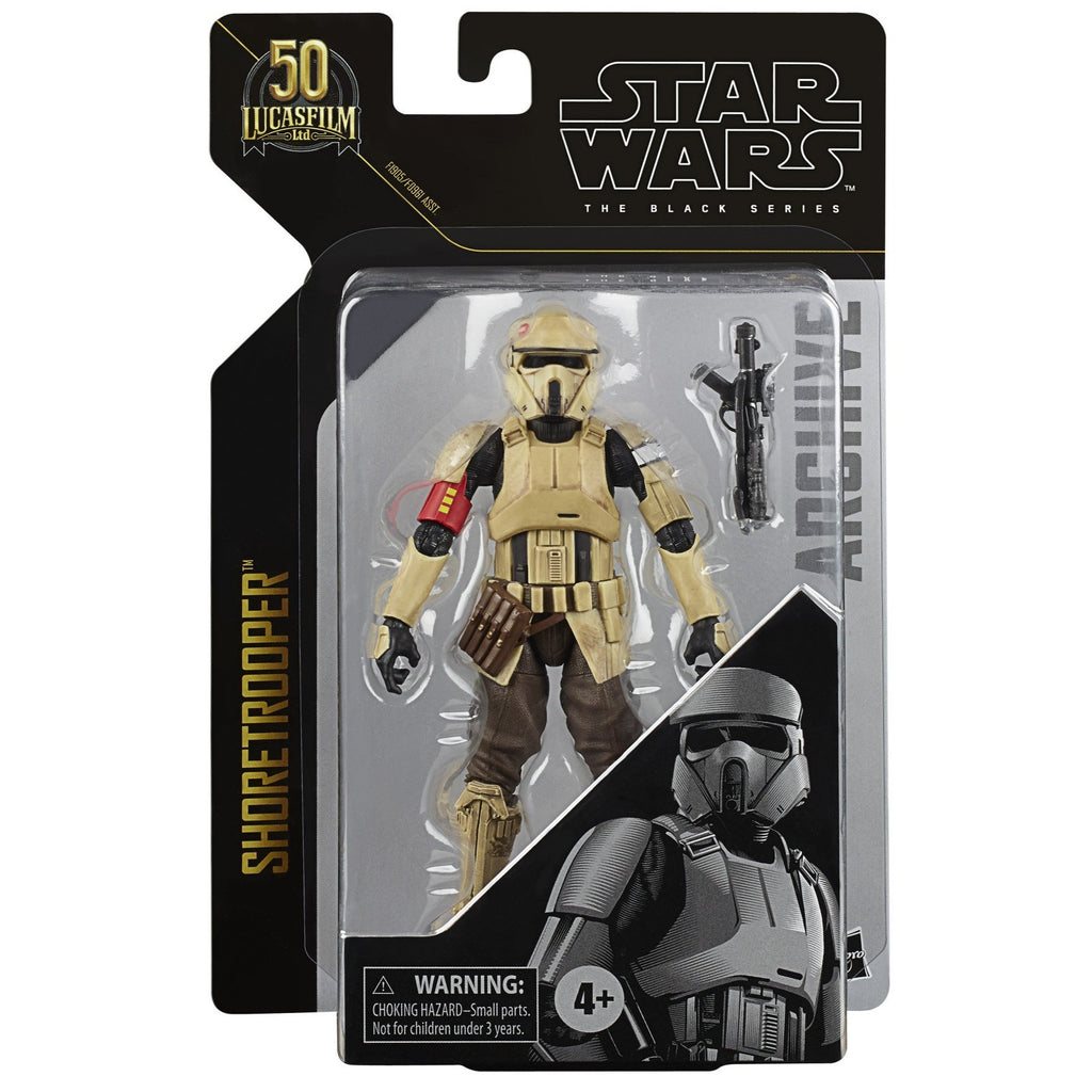 Star Wars Black Series Archive Shoretrooper 6 inch Action Figure 5010993825387
