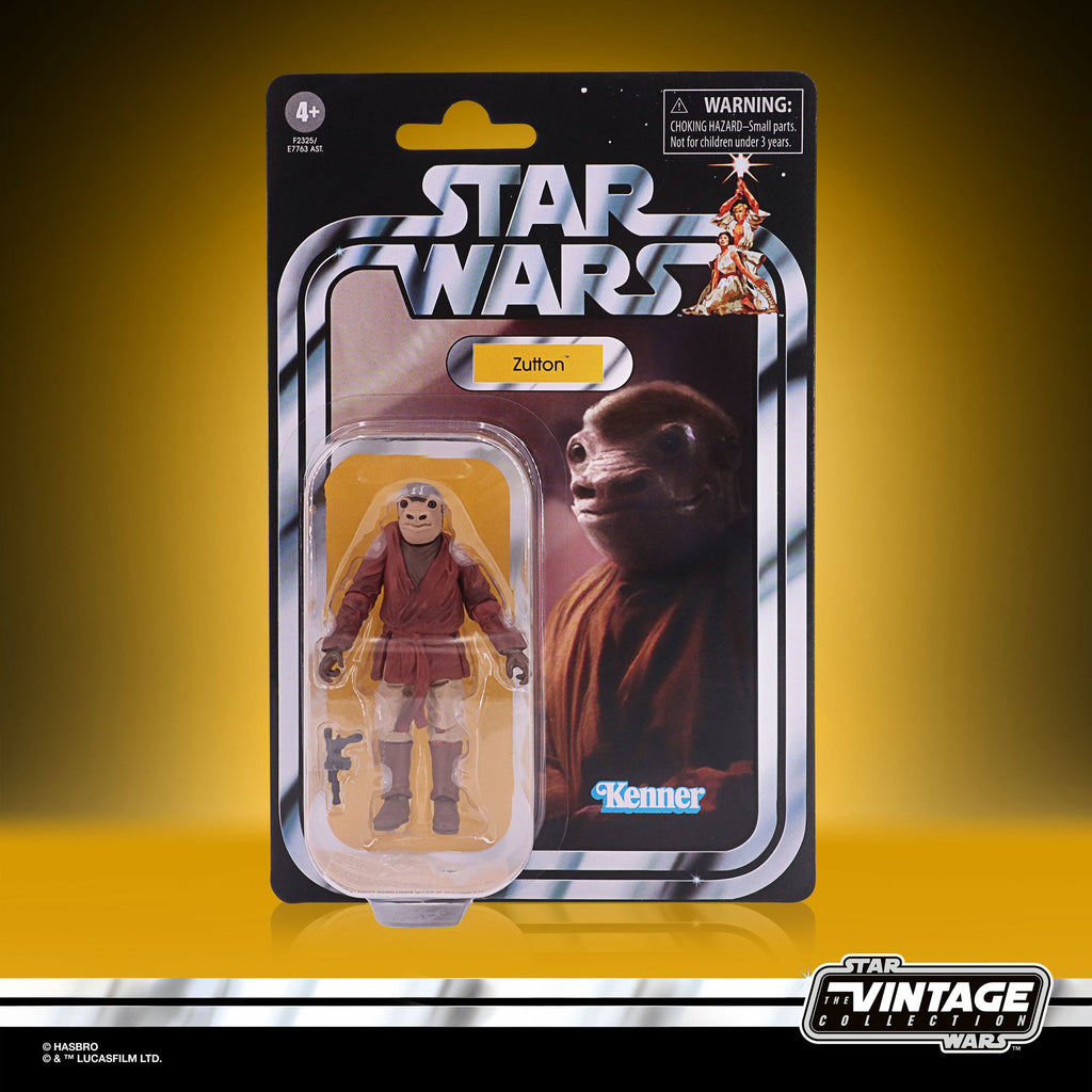 Star Wars The Vintage Collection Zutton (Snaggletooth) Figure 3.75 Inches 5010993834358