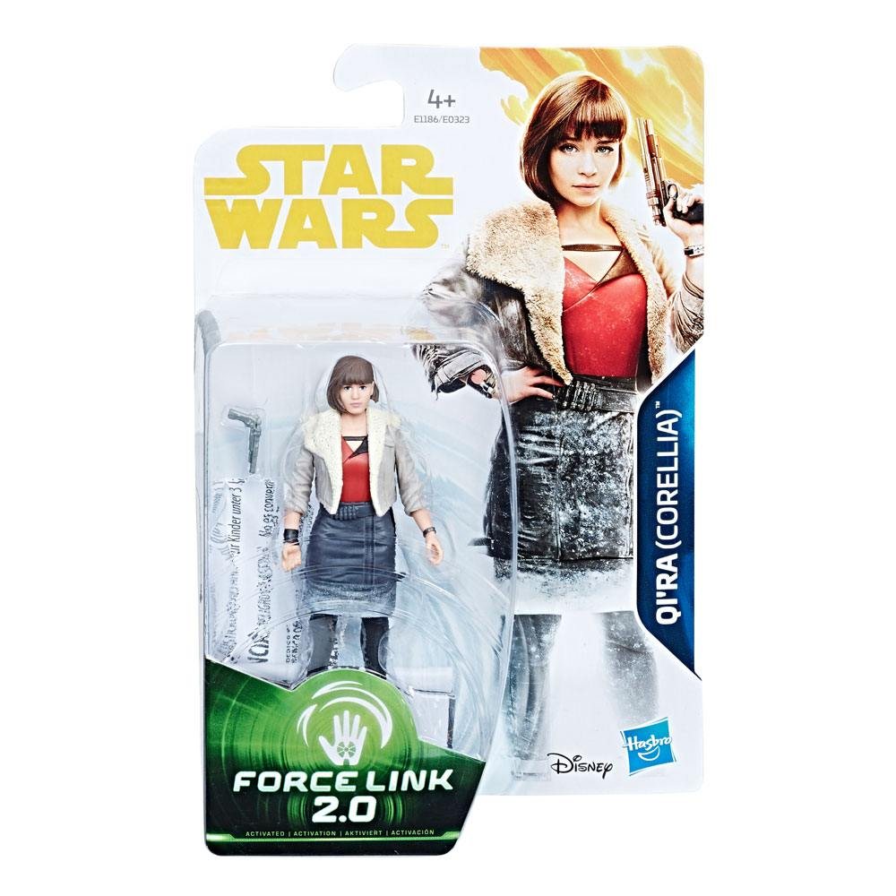 Star Wars: Solo QI'RA (Corellia) Force Link 2.0 Figure 3.75 Inches