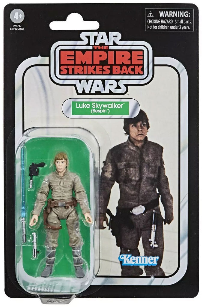 Star Wars The Vintage Collection Luke Skywalker (Bespin) Figure 3.75 Inches 630509935895