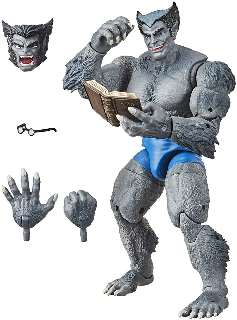 X-Men Retro Marvel Legends Beast 6 inch Action Figure 5010993727230