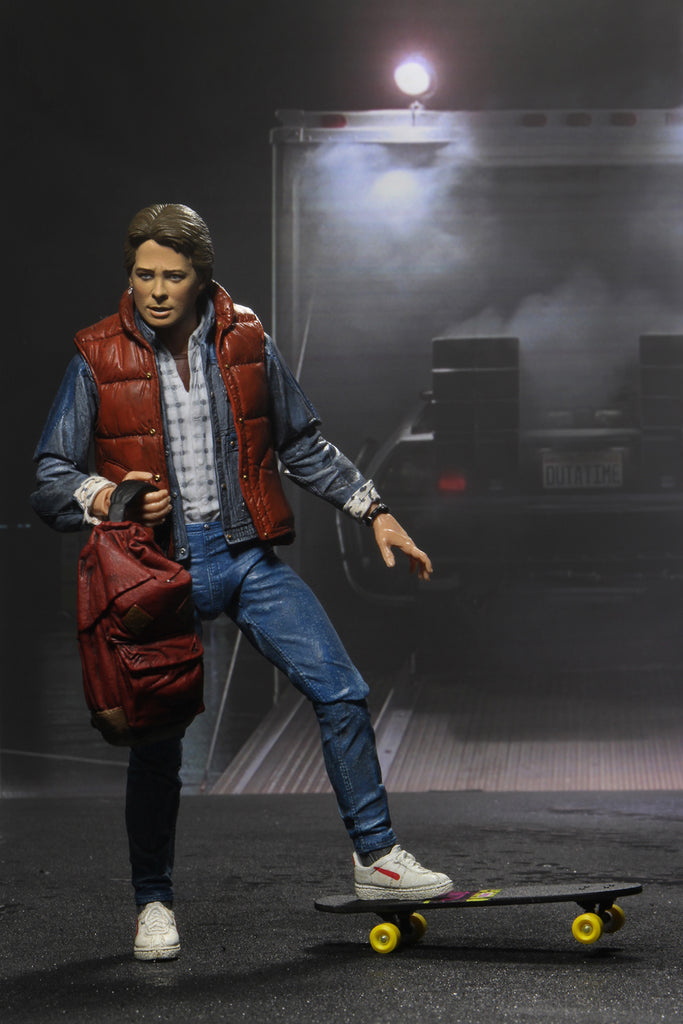 NECA Back to the Future (1985) Ultimate Marty McFly 7 inch Scale Action Figure 634482536001