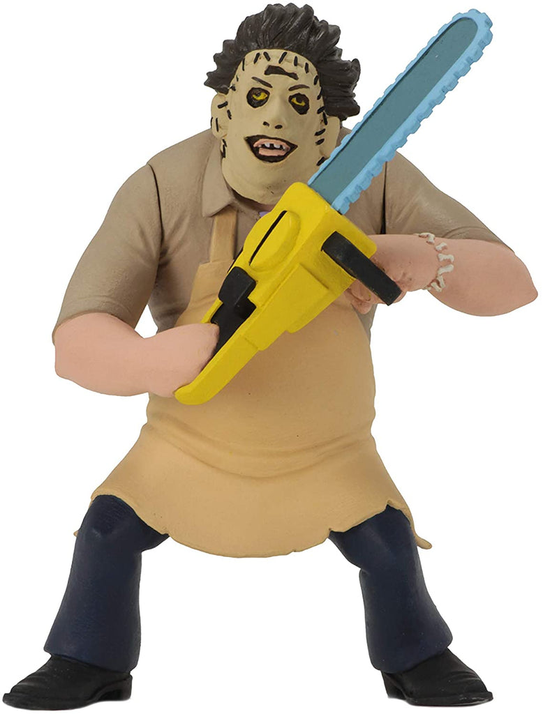 NECA Toony Terrors Series 2: Texas Chainsaw Massacre - Leatherface 6-inch Action Figure 634482420393
