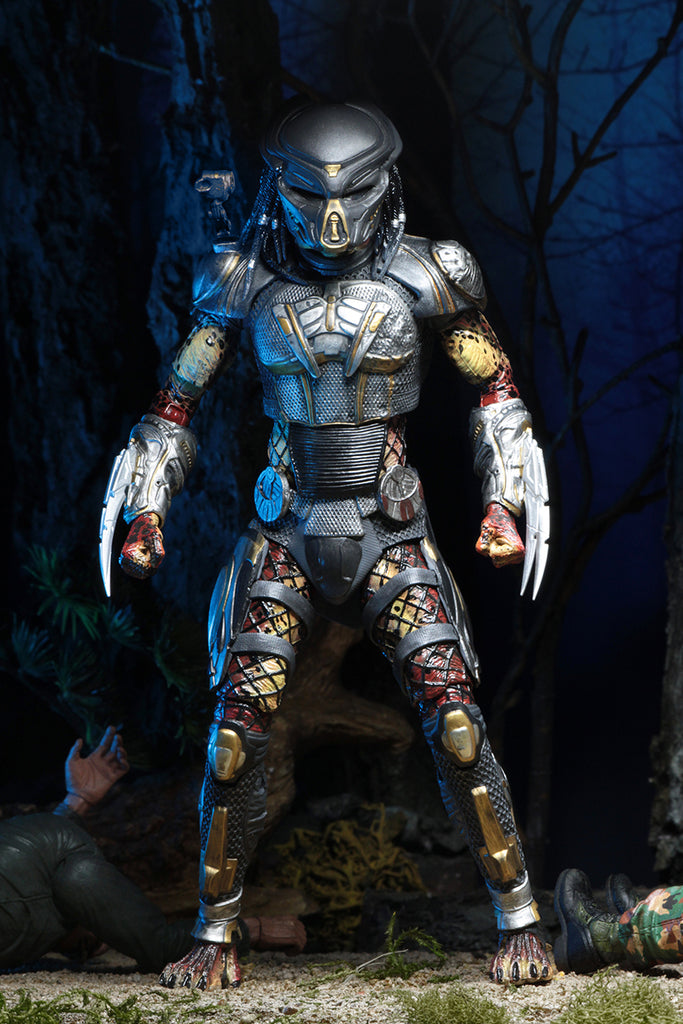 NECA Predator (2018) Ultimate Fugitive Predator 7 inch Scale Action Figure 634482515723