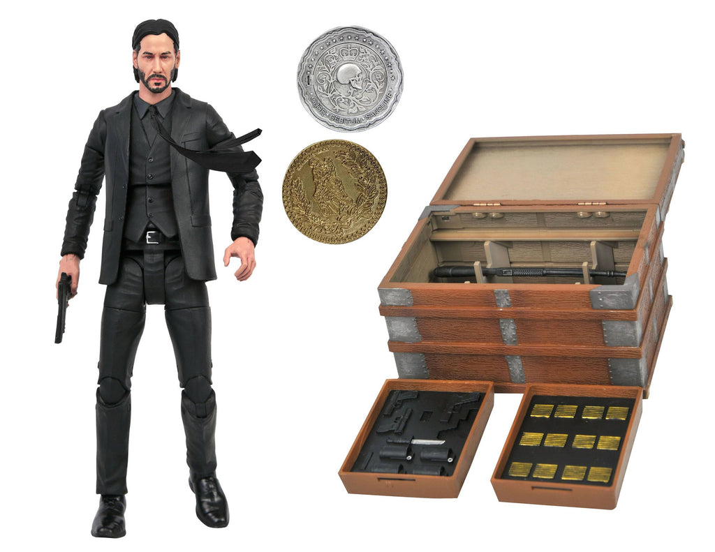 Diamond Select John Wick Deluxe Action Figure 699788841921