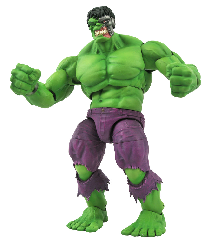 Marvel Select Rampaging (Immortal) Hulk Action Figure 699788840375