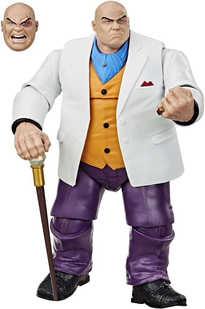 Spider-Man Retro Marvel Legends 6-Inch Scale Kingpin Action Figure 5010993731718