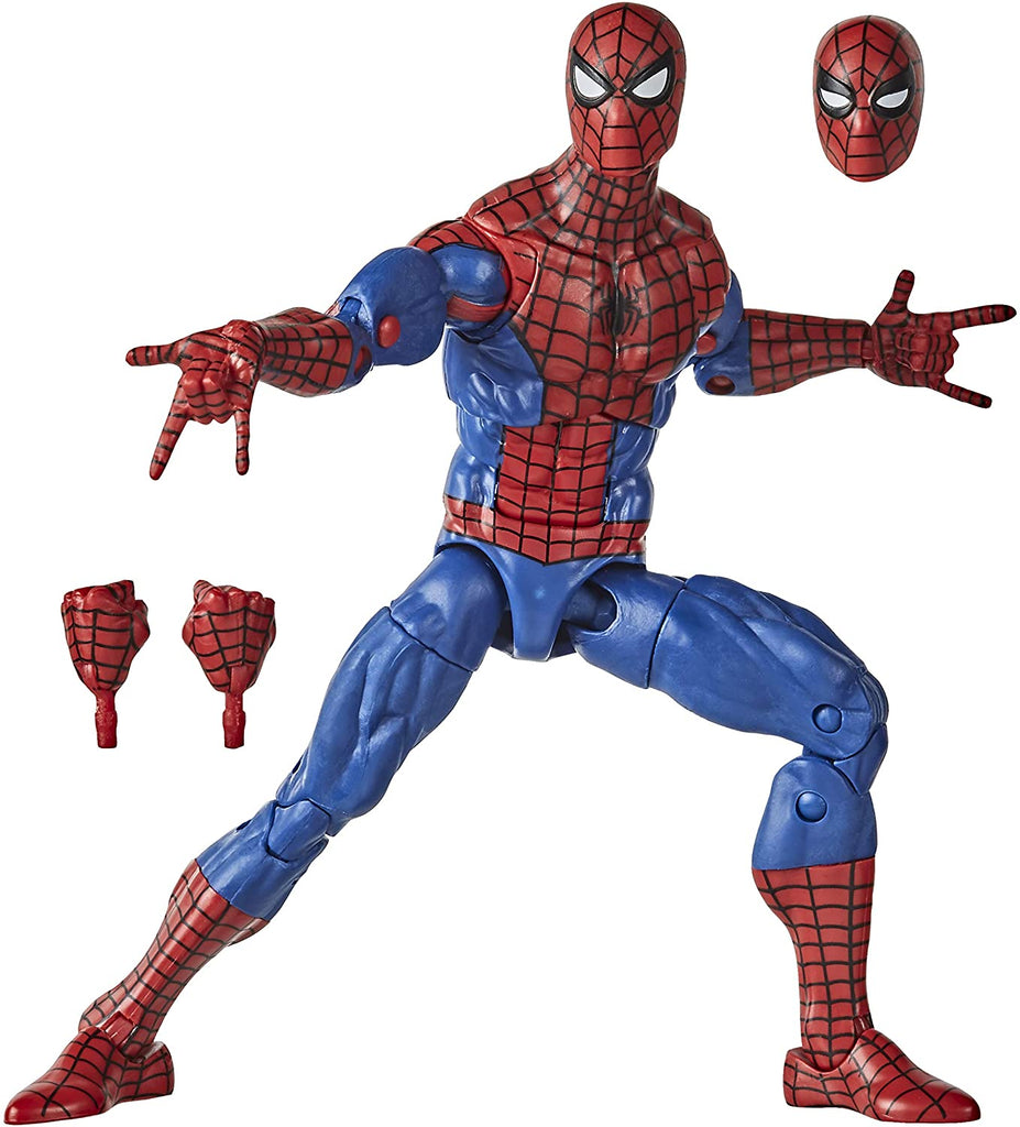 Spider-Man Retro Marvel Legends 6-Inch Spider-Man Action Figure 5010993715527