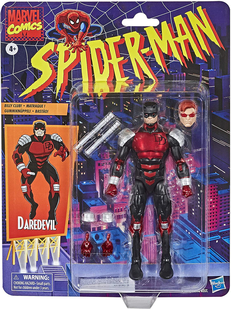Spider-Man Retro Marvel Legends 6-Inch Daredevil Action Figure 5010993715510
