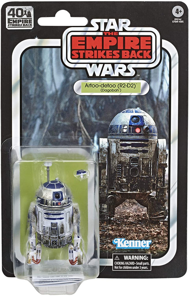 "Star Wars The Black Series Artoo-Detoo (R2-D2) 6"" scale The Empire Strikes Back 40TH Anniversary 5010993695065"