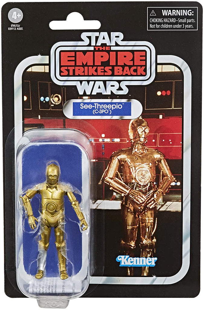 Star Wars The Vintage Collection See-Threepio (C-3PO) Figure 3.75 Inches 630509935901