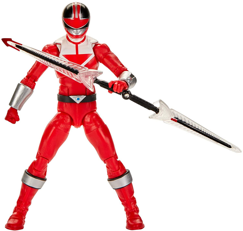 Power Rangers Lightning Collection 6 inch Time Force Red Ranger 630509936045