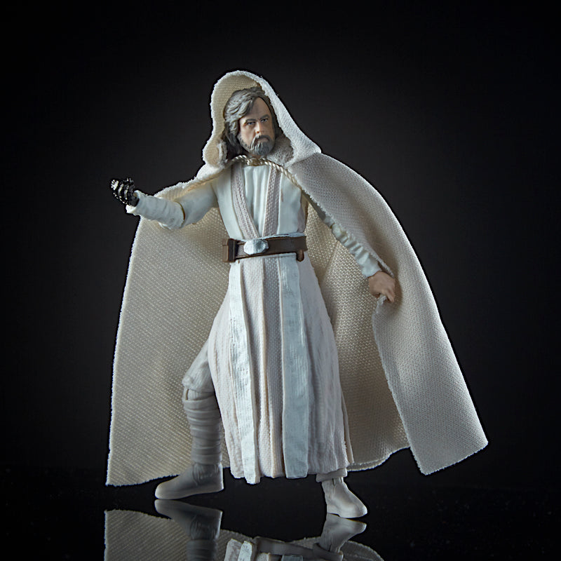 Star Wars Black Series Luke Skywalker (Jedi Master) The Last Jedi Action Figure 3.75 Inches 630509603954