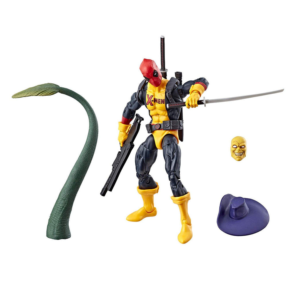 Marvel Legends Deadpool X-Men Tee Action Figure, 6-inch 630509713721