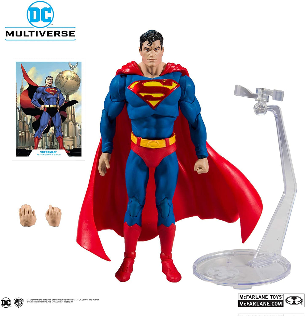 DC Multiverse Modern Superman 7-Inch Action Figure 787926150025