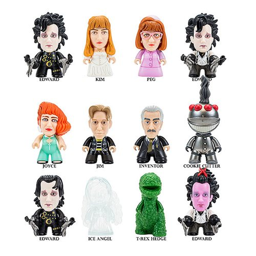 Edward Scissorhands I'm Not Finished Titan Random Mini Figure