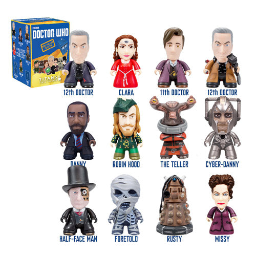 Doctor Who Titans Rebel Time Lord Collection Random Mini Figure list 5052473078005