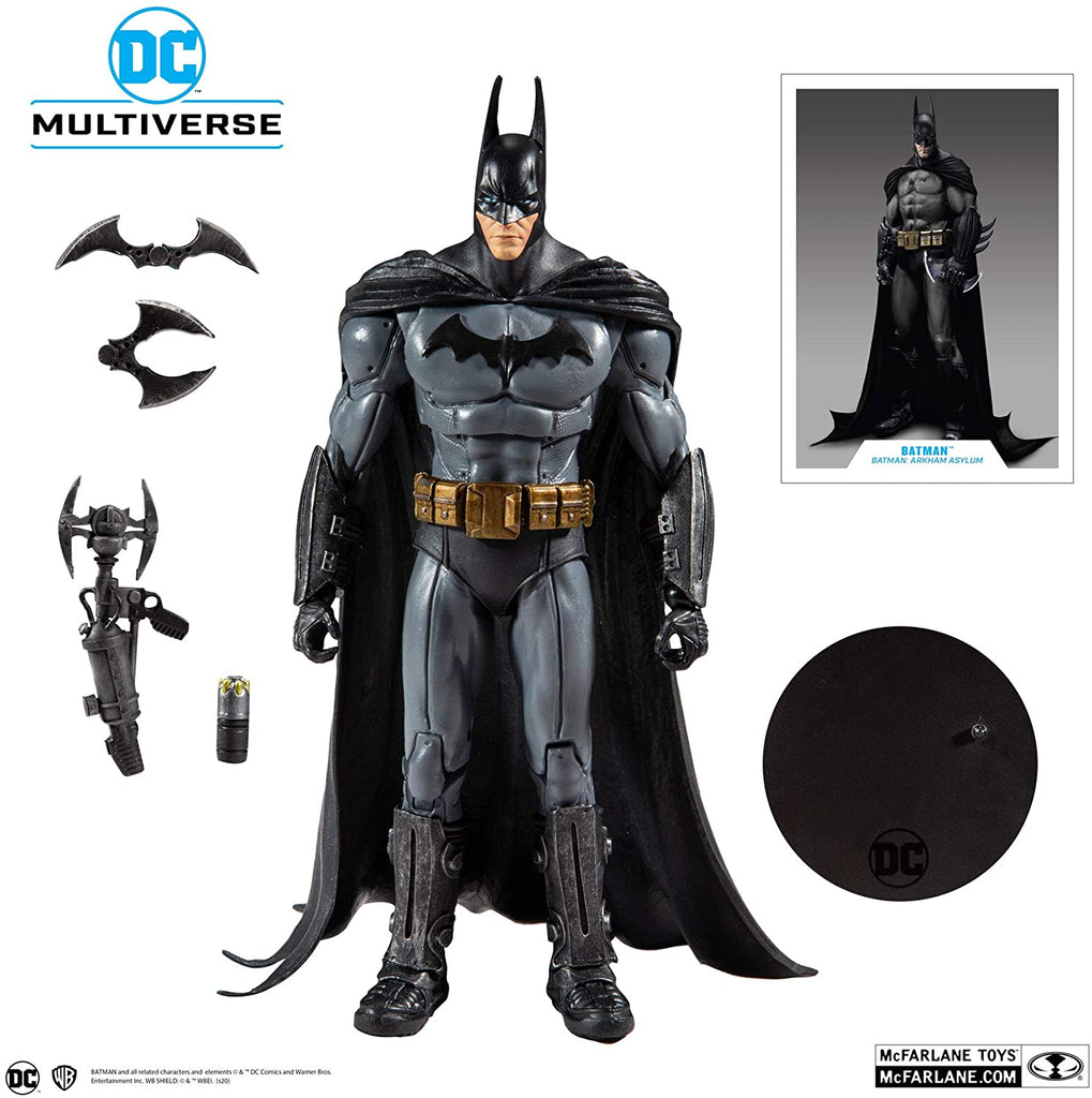 DC Multiverse Batman: Arkham Asylum Batman Action Figure 787926153460