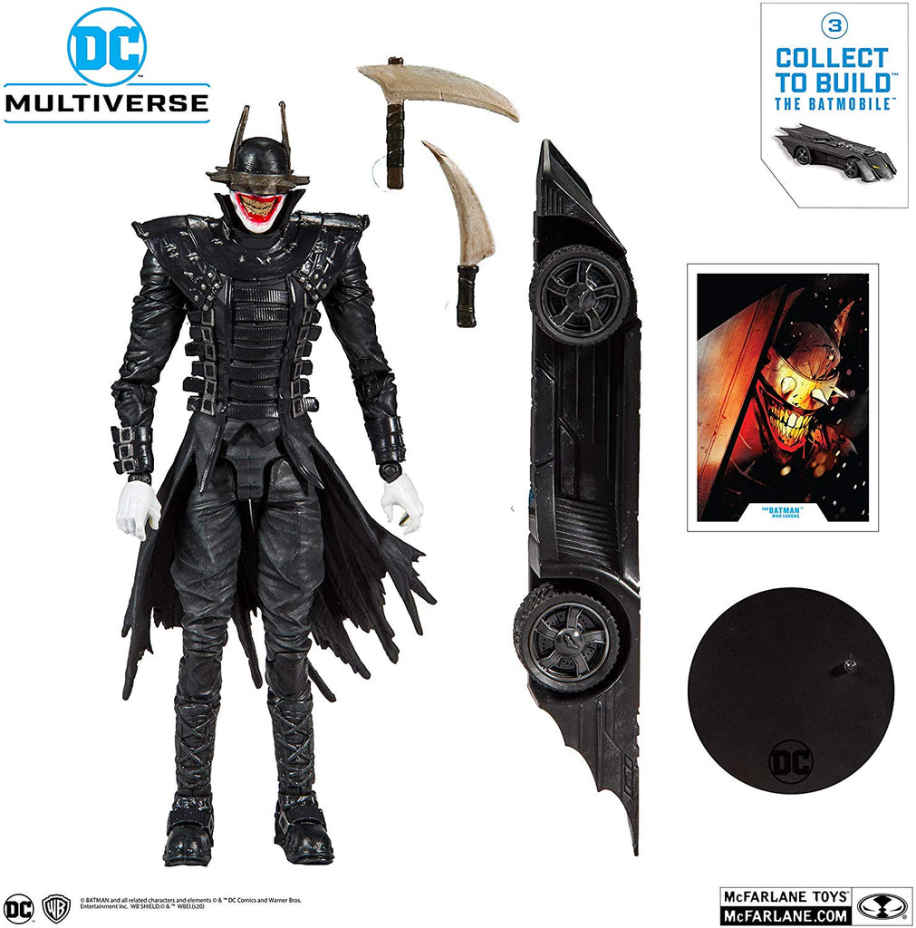 DC Collector Multiverse Wave 1 Batman Who Laughs 7-Inch Action Figure 787926154030