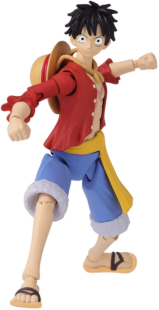 Anime Heroes One Piece Monkey D. Luffy Action Figure 045557369316