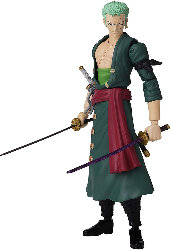 Anime Heroes One Piece Roronoa Zoro Action Figure 045557369323