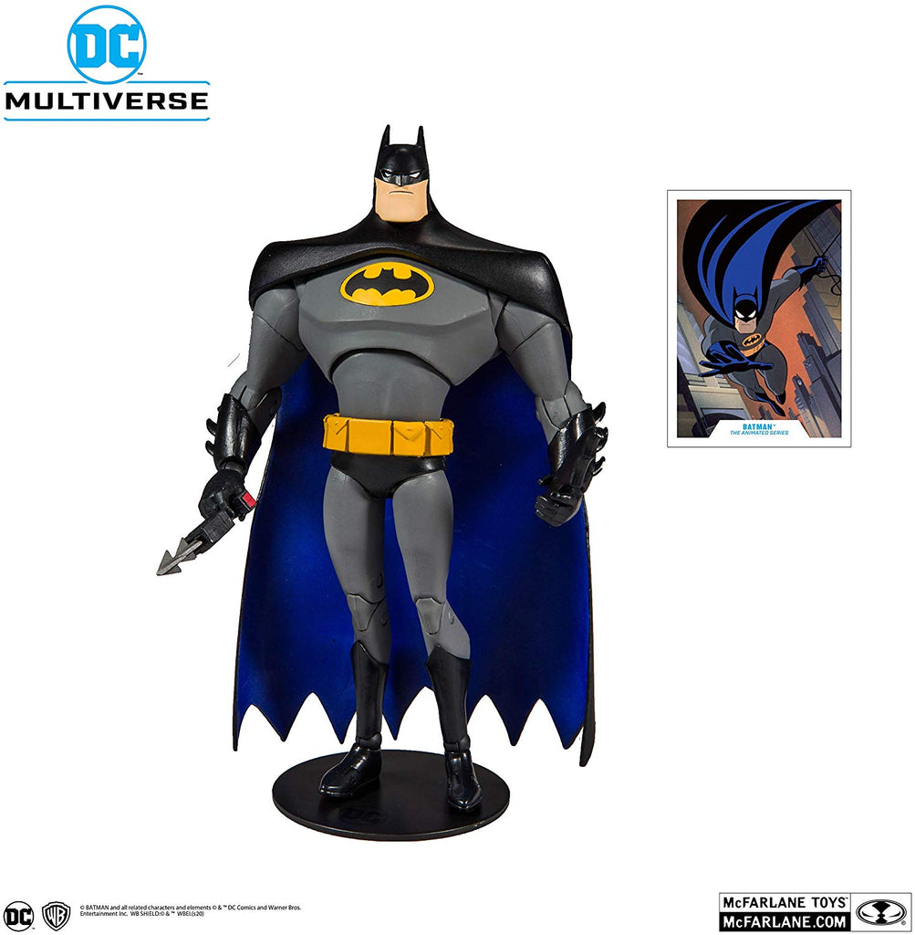 DC Multiverse DC Animated Batman: The Animated Series Batman 7-Inch Action Figure 787926155013