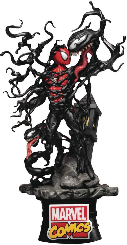 "Marvel Comic: Spider-Man vs. Venom D-Stage 6"" Statue"