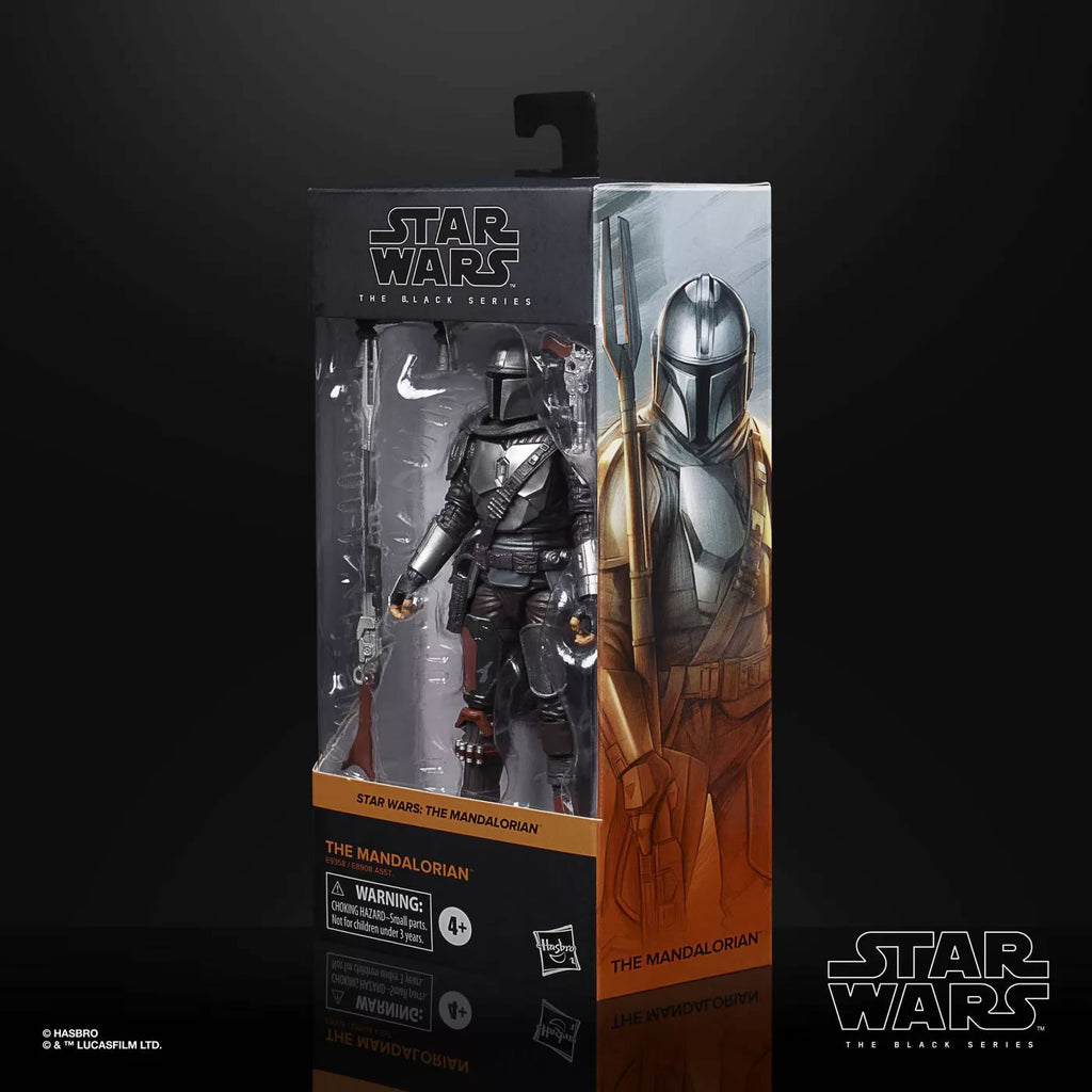 Black Series Star Wars: The Mandalorian - Mandalorian (Beskar) 6 inch Action Figure 5010993749218