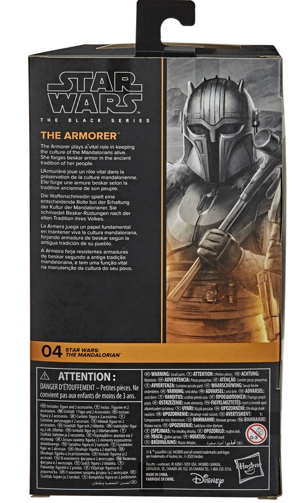 "Black Series Star Wars: The Mandalorian - The Armorer 6"" Action Figure 5010993754717"