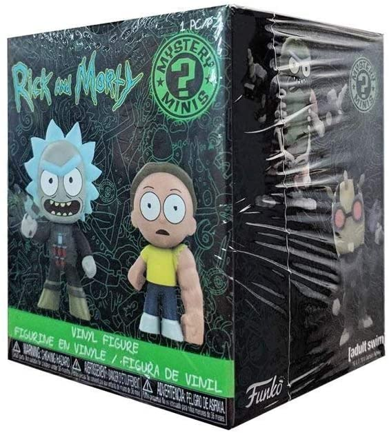 Funko Mystery Mini: Rick and Morty Series 2 - One Mystery Figure 889698292351