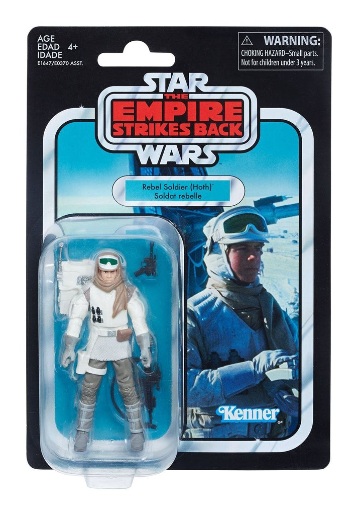Star Wars The Vintage Collection Rebel Soldier (Hoth) Figure 3.75 Inches