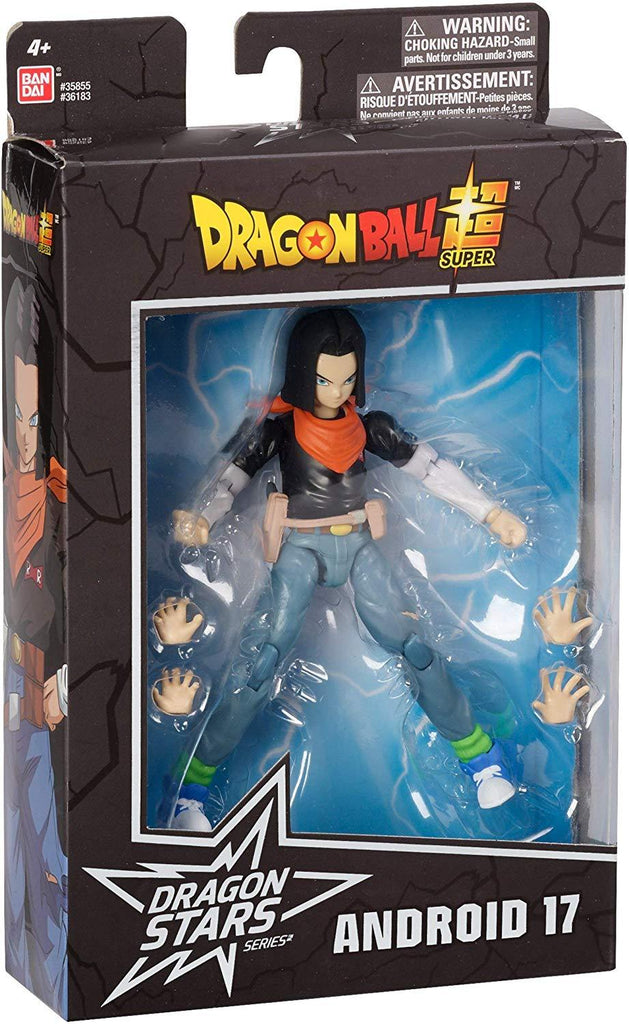 Dragon Ball Stars Android 17 Action Figure 045557361839