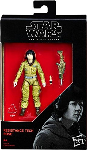 Star Wars Black Series Resistance Tech Rose (The Last Jedi) Action Figure 3.75 Inches 630509603930