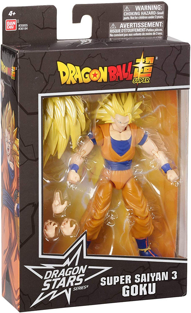 Dragon Ball Stars Super Saiyan 3 Goku Action Figure 045557361846