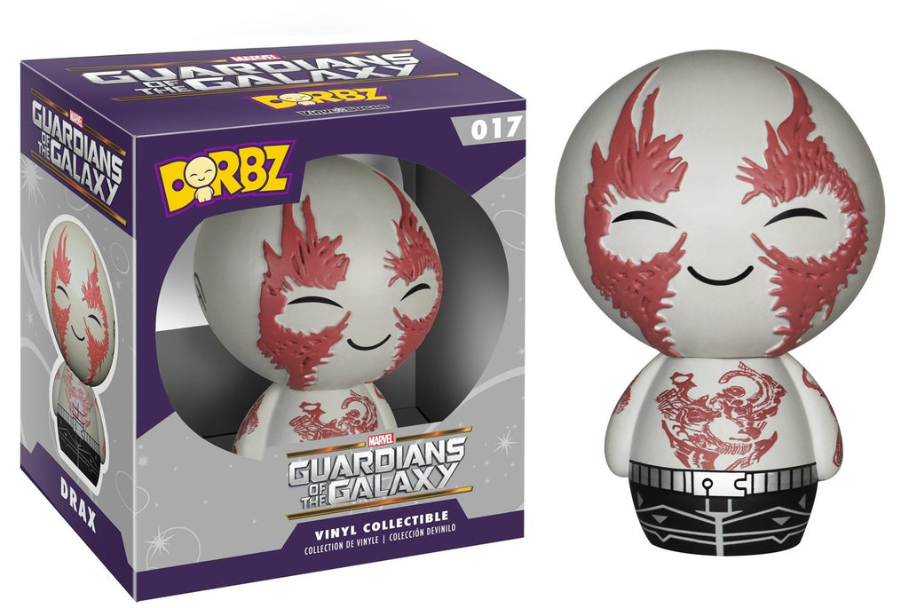 Funko Dorbz: Guardians Of The Galaxy Drax Vinyl Figure 849803059415